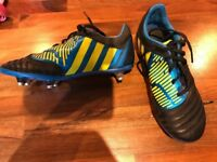 Boys Adidas Rugby boots size 4