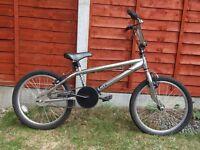 Crome bmx bike