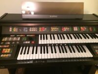 Kawai SR3 Organ in excellent condition with Manual and stool.