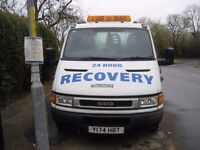 Recovery Truck Iveco Daily 3.5 ton swap 7.5 ton