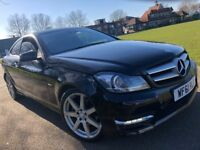 MERCEDES BENZ C CLASS C250 2.1 BLUE EFFICIENCY AMG SPORT EDITION 2011 (61) AUTOMATIC SATNAV FACELIFT