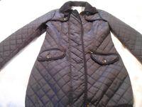 Next Navy Blue Jacket Size 12