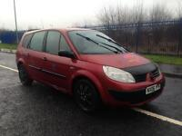 renault megane grand scenic 1.6 petrol 7 seater long mot 2006 plate cheap family car