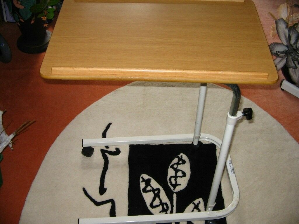 Astonishing Hospital Tray Portable Over Bed Chair Table Mobility Elderly Food Disability In Walthamstow London Gumtree Beutiful Home Inspiration Semekurdistantinfo