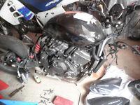 honda hornet 600 , 2011 breaking for parts