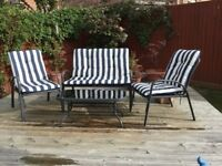 4 Piece Garden Furniture