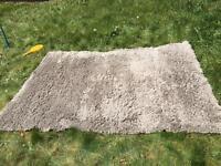 Large grey IKEA rug
