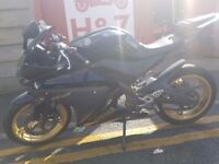 £1700 YAMAHA YZF R125cc in very Good Condition with Warranty!