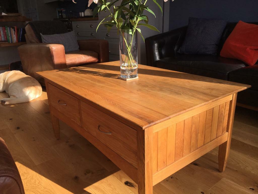 Laura Ashley Milton Oak Coffee Table In Wickersley South Yorkshire Gumtree