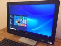 "DELL Optiplex 9010 - 23"" FULL HD All in One - WebCam - USB 3.0 - Windows 10 - Desktop PC Computer"