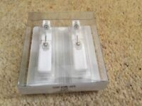 studex system 75 stainless steel ear piercing earrings