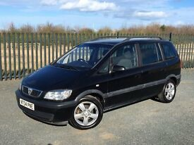 2004 04 VAUXHALL ZAFIRA ENERGY *DIESEL* 7 SEATER M.P.V - JULY 2017 M.O.T - ONLY 1 OWNER FROM NEW!