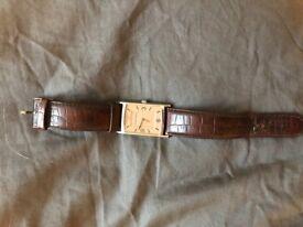 Armani Leather Watch