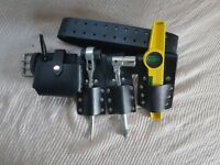 Scaffolding Black leather toolset Belt Stock Clearance Offer Sale