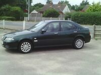 rover 45, 54 reg, automatic, low miles, half leather, full history