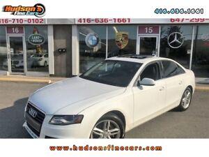 2010 Audi A4 2.0T Premium Quattro|HEATED SEATS|SUNROOF|AUDI C...