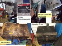 TOOL CLEARANCE MUST GO USED TOOLS - inc pneumatic, demo and hand tools