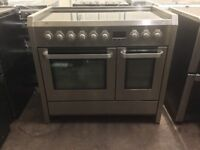 AEG competence electric range cooker 100cm stainless steel 3 months warranty free local delivery!!!