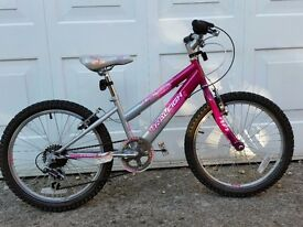 "KIDS 5-Speed RALEIGH GIRLS Bike - 20"" Wheels"