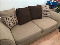 3 seater and 2 seater sofa set