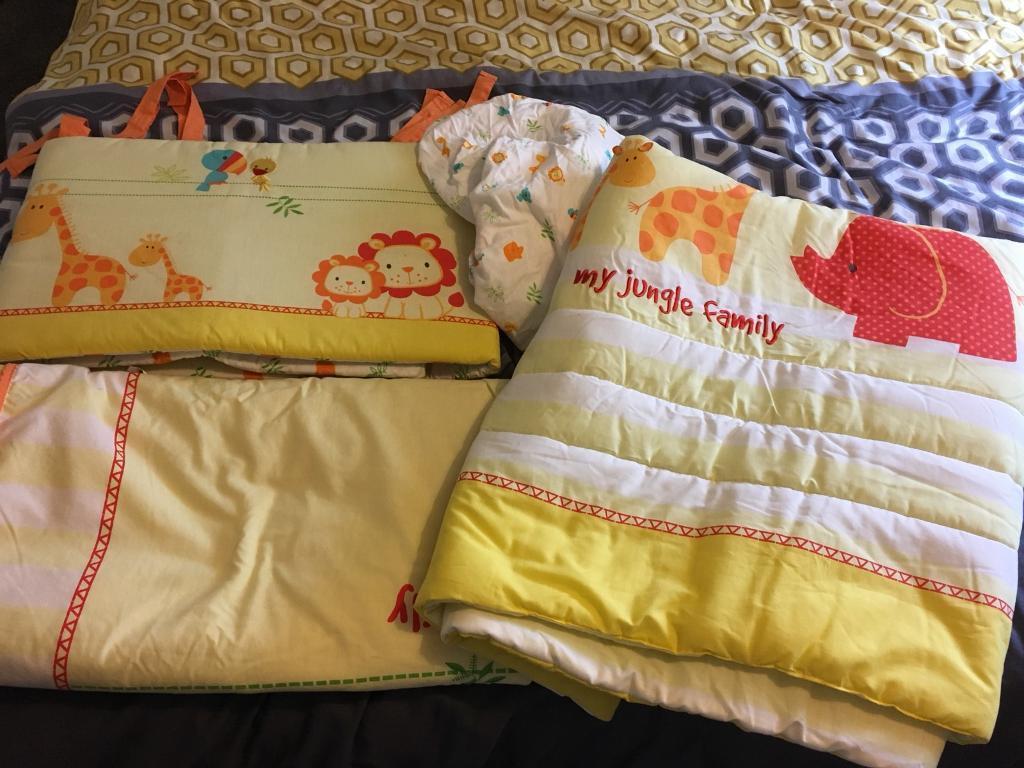 Mothercare 5 piece Cot Bedding Set