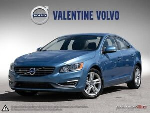 2015 Volvo S60 T5 AWD with Certified Pre-Owned Warranty!
