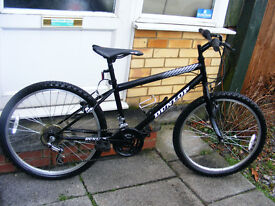 "SMALL MANS BIKE 24"" WHEEL 15"" FRAME IN GREAT WORKING ORDER"
