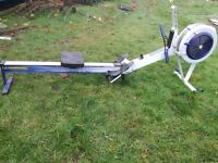 Rowing machine model D with working pm3 monitet