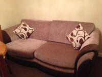 Beautiful large three seater sofa looks like new