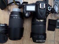 Nikon D90 and 3 Nikon Lenses/Accessories