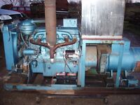 Morrison Ford Markon Diesel Generator 3 Phase 415 Volts Standby Use Only Ex Rolls Royce