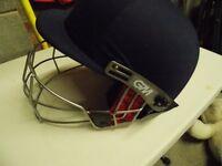 gunne and moore cricket helmet/ large