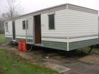 CHEAP STATIC CARAVAN FOR SALE - SUITABLE FOR FARM, STABLES, OFFICE.
