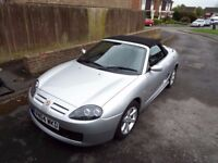 MGTF 1.8 135 Silver Low Mileage, FSH, New Cambelt, recent MOT