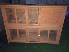 Large hutch&accessories