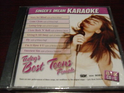 Singers Dream Karaoke Disc Sdk 9065 Todays Best Teens Female Cd G Multiplex