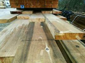 8 x 2 Rough Sawn 4.2mtr - 4.5mtr Lengths