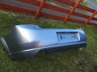Vectra c rear bumper in moonstone grey