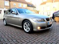 BMW 318D ES AUTOMATIC 5 DOOR TOURING FSH HPI CLEAR 2 KEYS EXCELLENT CONDITION