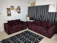 SPECIAL OFFER: BRAND NEW KENNING JUMBO CORD CONER SOFA AT A CHEAP PRICE WITH 1 YEAR WARRANTY!!!