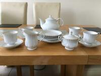 4 piece tea set