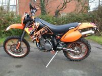 KTM 640 LC4 ENDURO BLACK Road legal
