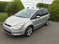 FORD S MAX 2.0 TDCI 2008, 7 SEATER, FULL YEARS MOT **FINANCE THIS FROM £41.50 PER WEEK**