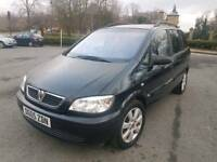 **2005 VAUXHALL ZAFIRA 1.6 BREEZE 7 SEATER F.S.H CAMBELT CHANGED 1 FORMER KEEPER**