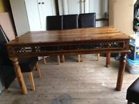 Solid Wood Dining Table **BARGAIN***