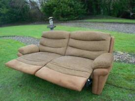 Large Modern Full Recliner Sofa