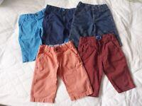 Shorts 5-6 years X 5