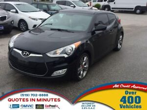 2012 Hyundai Veloster TECH PACKAGE   ROOF   NAV   LEATHER   HEAT