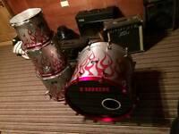 4 piece Trick drum kit