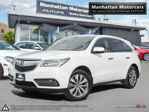 2014 ACURA MDX TECH PKG |NAV|CAMERA|BLI.SPOT|PHONE|7PASS|P.SHIFT